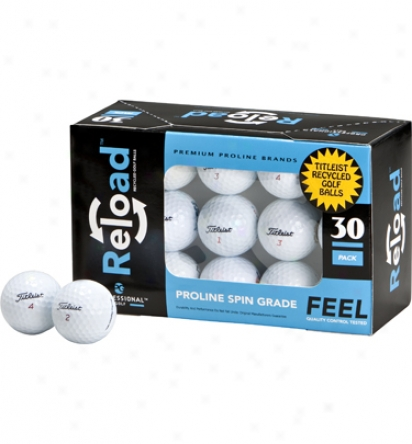 Professional Golf Reload Golf Balls 30 Pack