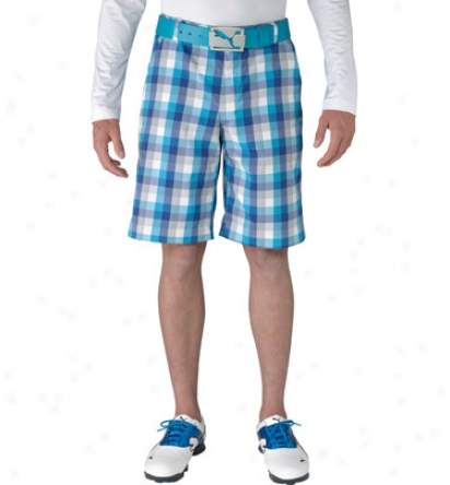 Puma Mens Check Tech Shorts