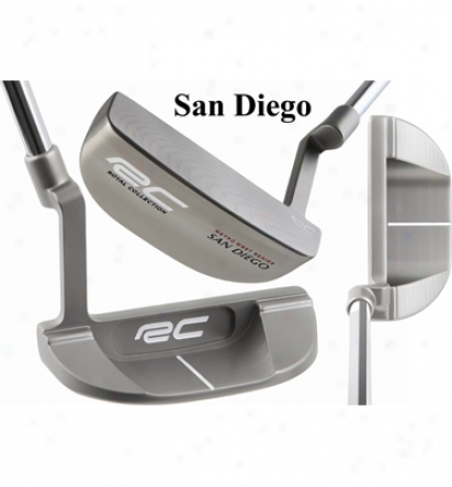 Roal Collection Cnc Stainless Metro West Series Putter