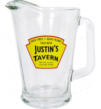 Royal Personalized In.yellow Tavern In. 6O Oz.pitcher