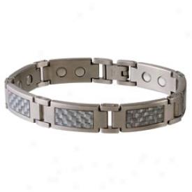 Sabona Grey Carbon Fiber Stainless Magnetic