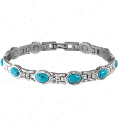 Sabona Lady Turquoise Magntic Bracelet