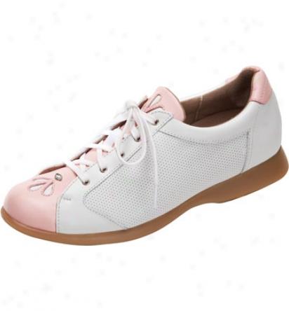 Sandbaggers Womens Deb Golf Shoes (blush)