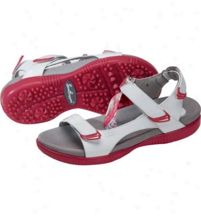 Sandbaggers Womens Tango Golf Shoes (berry Splash)