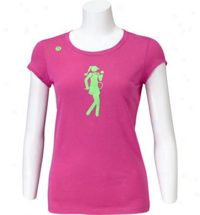 Stick It Wear Womens Ana Longer Length Cotton T-shirt