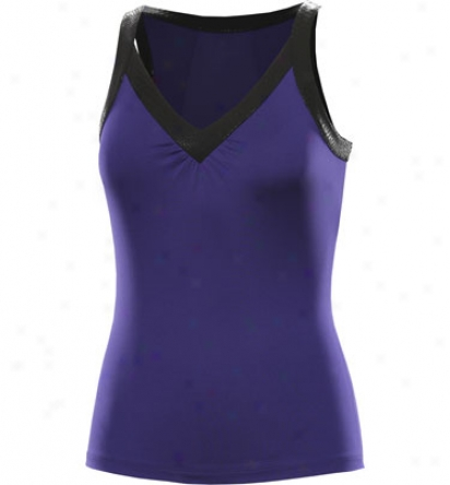 Tail Tennis Womens V-neck Cistern With Banding Detail