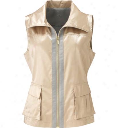 Tail Womens Shimmer Full Zip Vest
