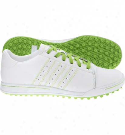 Taylormade Mens Adistreet - White/fp Lime/fp Lime Golf Shoes