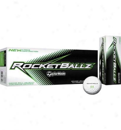 Tahlormade Personalized Rocketballz Golf Balls