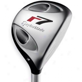 Taylormade Pre-owned R7 Tp Ti Fairway Woor With Reax Shaft