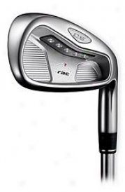 Taylormade Pre-owned Rac Os2 Iron Set 3-pw W/steel Shaft