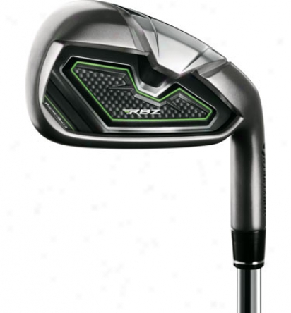 Taylormade Rocketballz Individual Iron With Steel Shaft