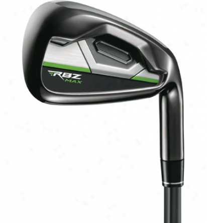 Taylormade Rocketballz Max 5-pw, Sw Iron Set With Steel Shafts