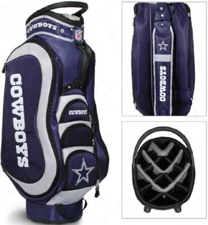 Team Golf Nfl Mddalist Cart Bag