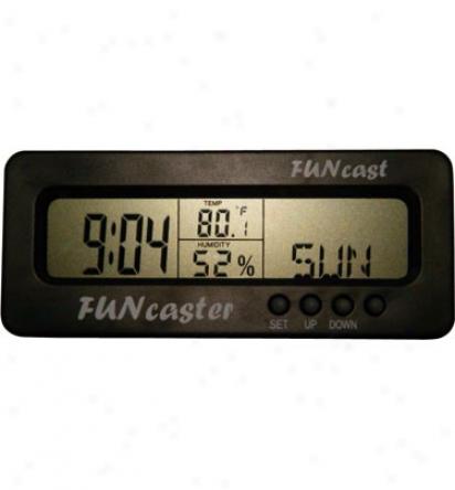 Tecscan Funcaster Weather Predicting Clock