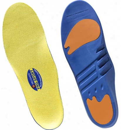 Ten Seconds Pro-sport Insole - Red/yellow