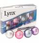 Lynx Color Chrome Golf Balls