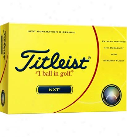 Titleist Nxt Personalized Golf Balls