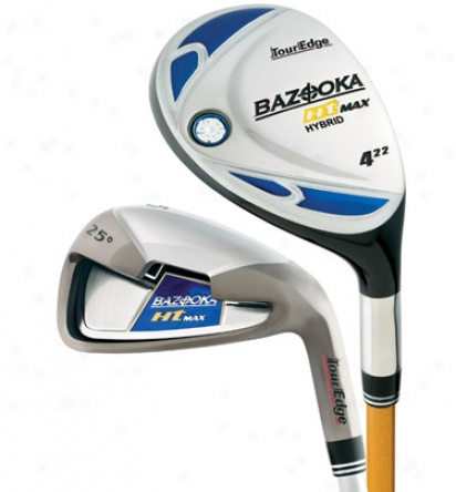 Tour Edge Bazooka Ht Max Combo Set 4h, 5h, 6 -sw With Graphite Shafts