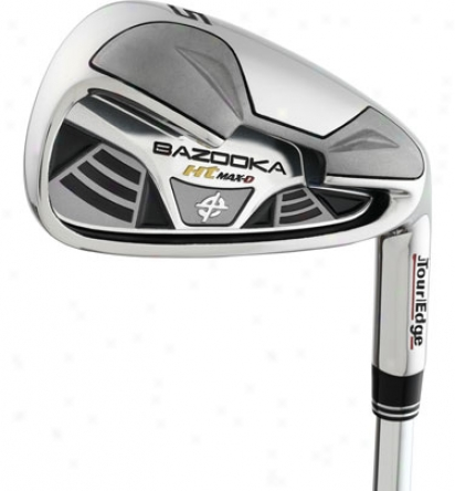 Tour Edge Bazooka Ht Max D 4-pw Iron Set With Graphite Shafts