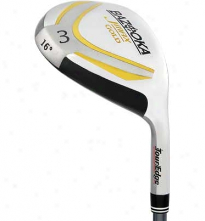 Tour Edge Lady Bazooka Jmax Gold Fairway/hybrid