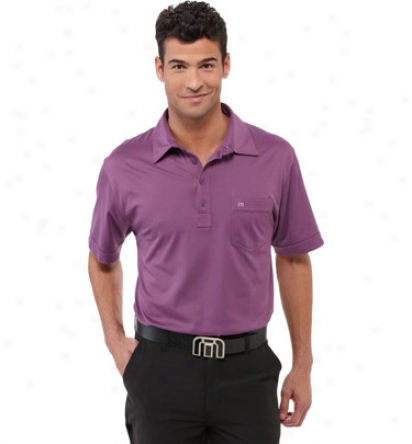 Travis Mathew MenD remel Pocket Polo