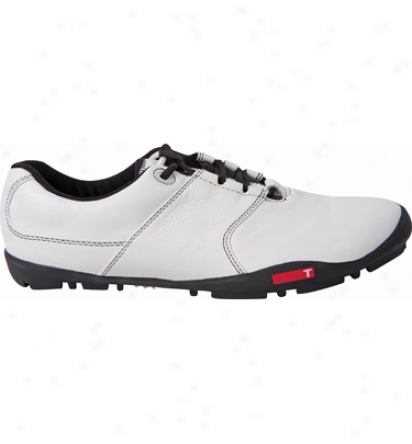 True Linkswear Mens True Tour - White/white Golf Shoes