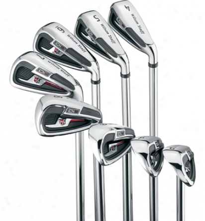 Wilson Di11 4-pw, Gw Iron Set With Graphite Shafts