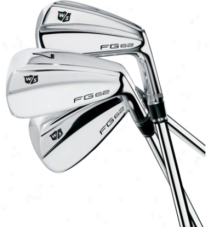Wilson Fg62 3-pw Iron Set With Steel Shafts