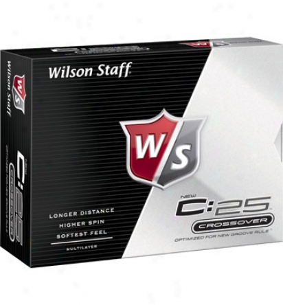 Wilson Personalized C:25 Golf Balls
