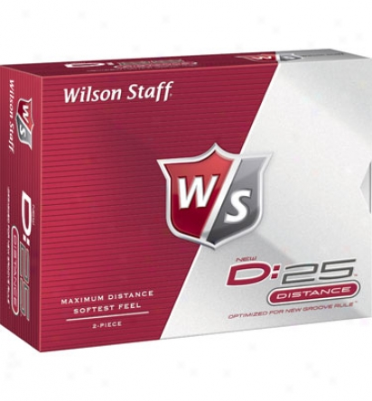 Wilson Personalized D:25 Golf Balls