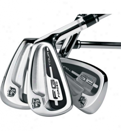 Wilson Pre-owned Fg Tour Iron Set 3-pq In the opinion of Steel Shafts