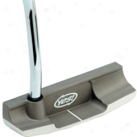 Yes Golf Preo-wned C-groove Tracy Forged Carbon Putter