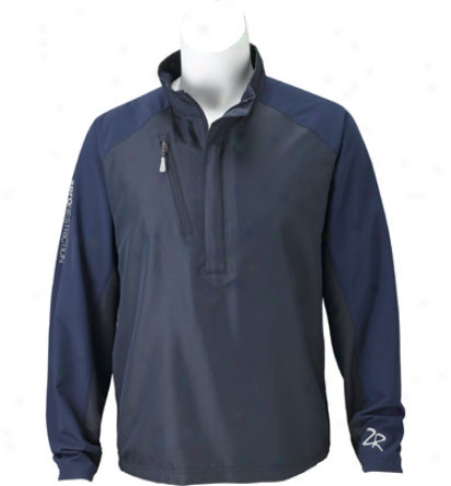 Zero Restriction Mens Mixed Pullover