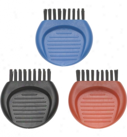 Ztech 3 Pack Pocket Brush- Red, Blue, Black